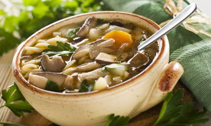 Как сварить суп с маринованными грибами