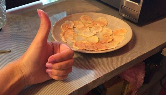 Как приготовить чипсы в микроволновой печи