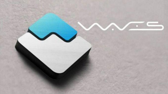 Эмблема платформы Waves