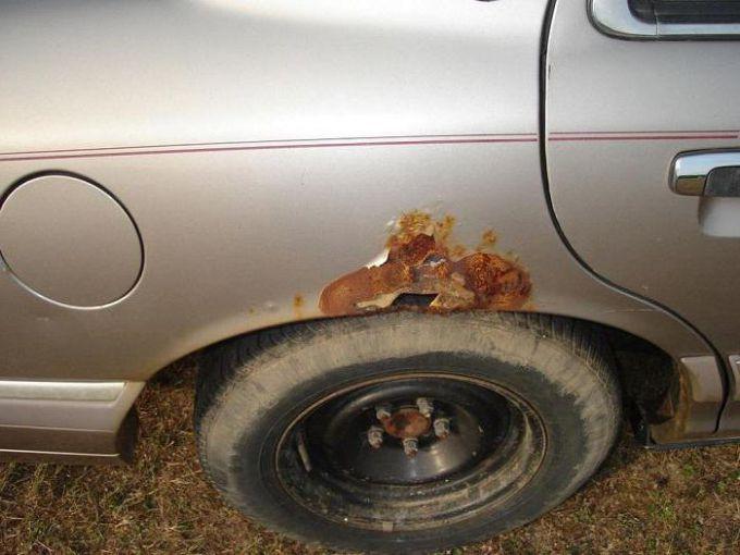 Как защитить кузов автомобиля от коррозии - Ремонт и сервис
