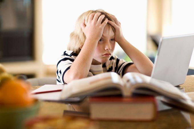 Есть ли стресс у детей