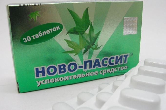 Таблетки «Ново-Пассит»
