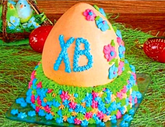 Как сделать торт «Крашенка»