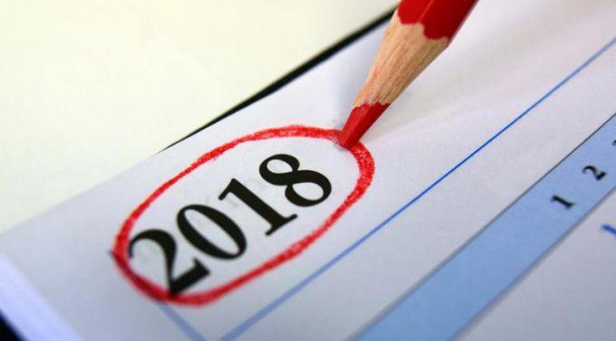 Сроки сдачи отчетности: календарь 2018