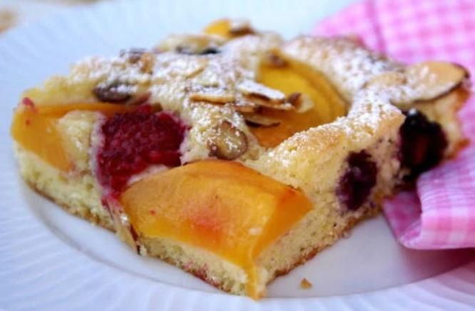 Как приготовить пирог фруктовый микс в духовке: пошаговый рецепт