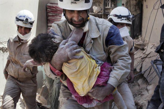 Кто такое белые каски в Сирии