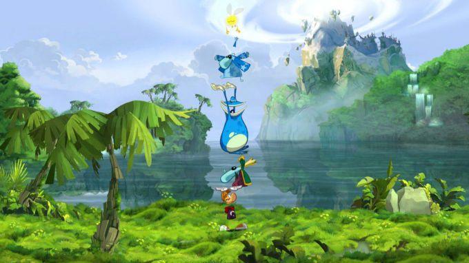 Как пройти игру Rayman Origins