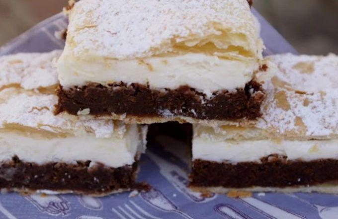 Как приготовить пирожное из слоеного теста с кремом: пошаговый рецепт