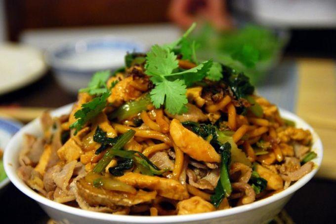 Как приготовить китайское блюдо Чисанчи