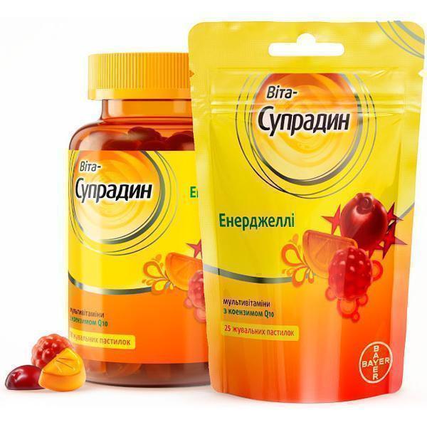 Мультивитаминный препарат «Супрадин»
