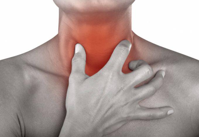 рак горла симптомы