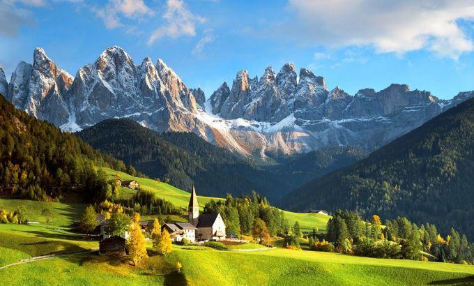 Нет, это не PhotoShop. Это Австрия!