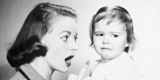 как нельзя поступать со своими детьми