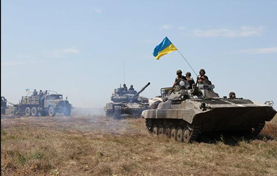 Наступление ВСУ на Донбассе в мае 2018