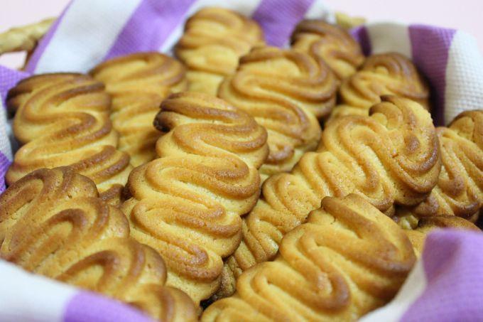 Печенье из сухого молока