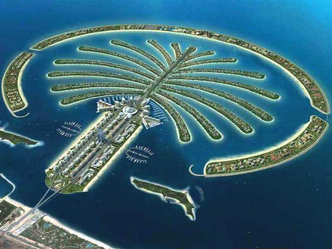 Острова Пальм – творение рук человеческих