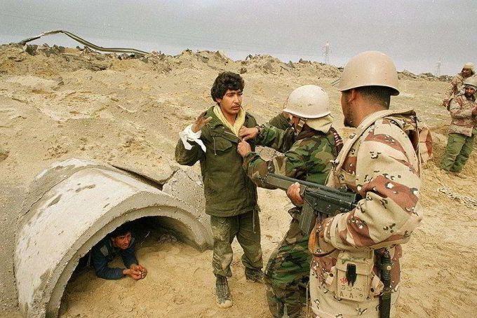 """Война в Ираке: операция """"Буря в Пустыне"""", казнь Саддама Хусейна итоги"""