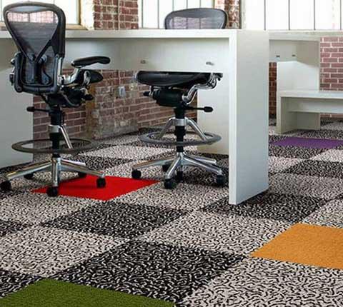 Плиточный ковролин: коммерческие и бытовые покрытия