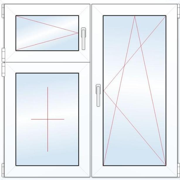 Как сделать окна с форточкой: пластиковые и деревянные конструкции