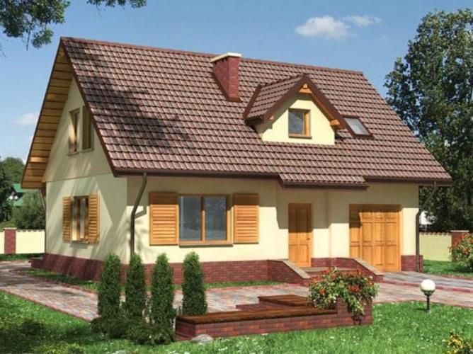 Расчет материалов для двускатной крыши