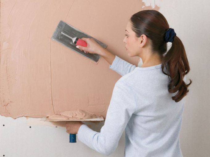 Шпаклевка гипсокартона под покраску: материалы, инструменты, технология