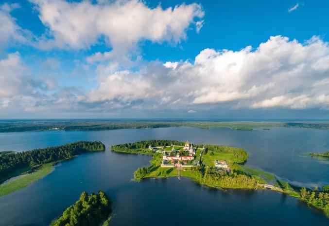 Озеро Валдай: описание