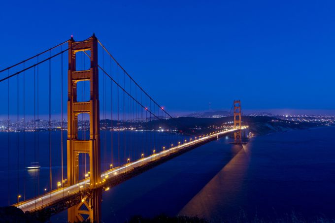 golden gate bridge, золотые ворота