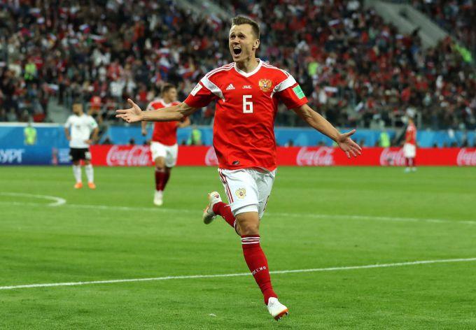 Команда России вышла в 1/8 финала в Чемпионате Мира по футболу