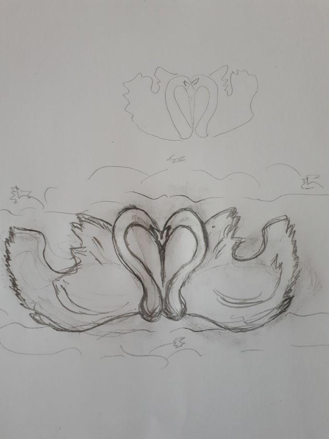 Фрагмент Счастья величиной с Любовь можно создать только в Лавии. Лебеди же, как известно, являются в живой природе символом чистоты и верности....