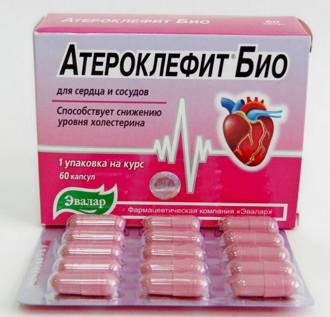 Атероклефит: инструкция по применению, показания, цена.