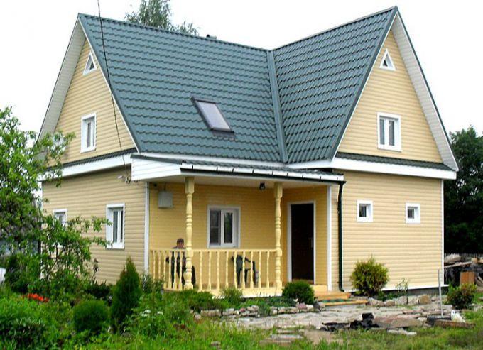 Виды сайдинга для загородного дома
