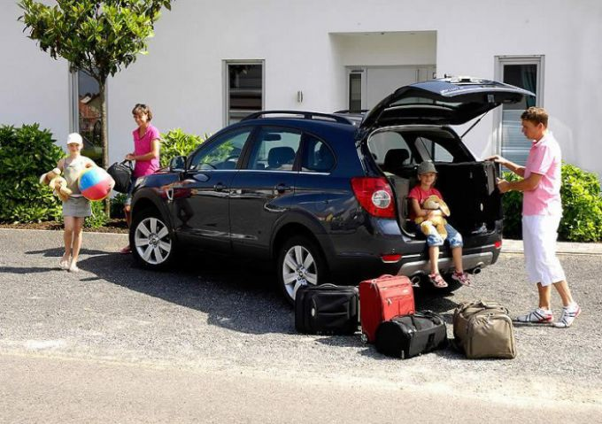 Подготовка машины к поездке
