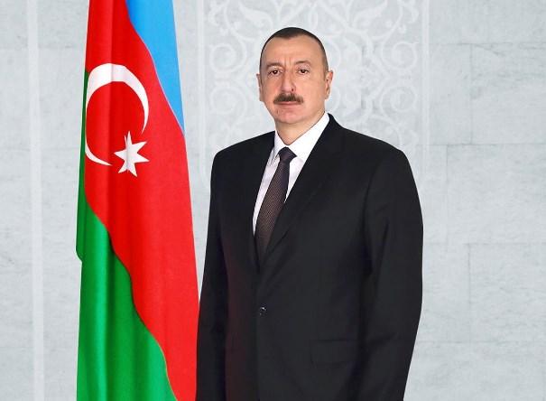 Ильхам Алиев - президент Азербайджана
