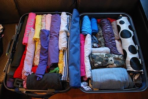 Правильно собранный чемодан