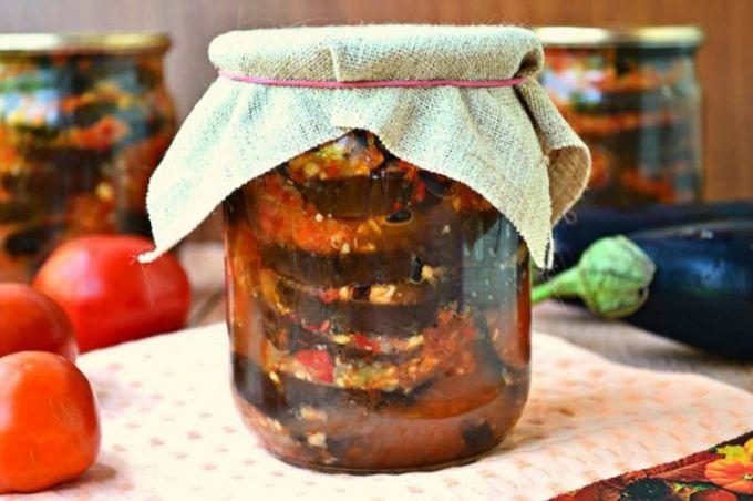 Рецепты баклажанов на зиму: лучшие заготовки и вкусные салаты