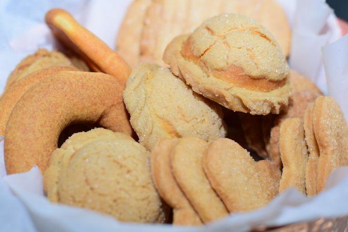 Сахарное печенье просто