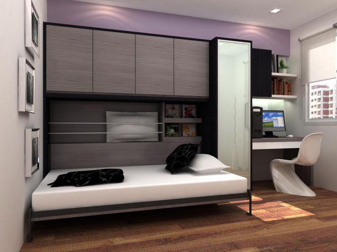Как выбрать кровать для малогабаритной квартиры
