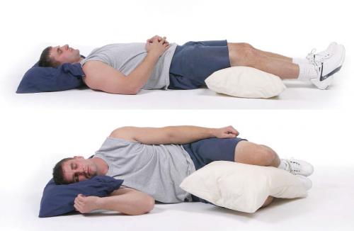 Чтобы спина не болела, нужно выбрать правильную позу
