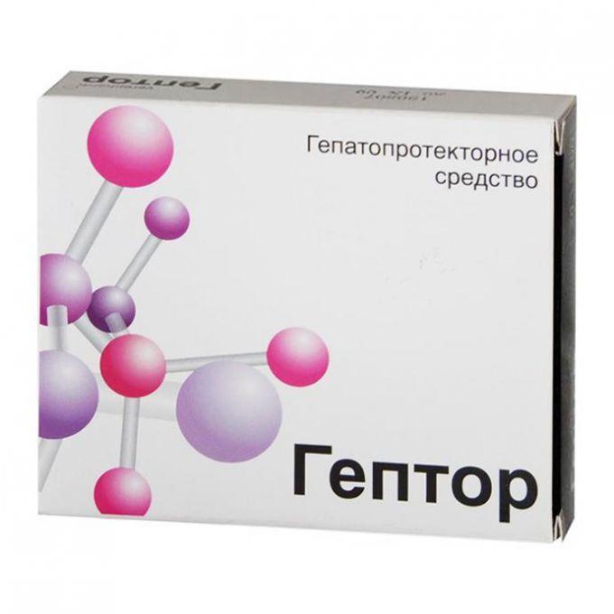 Гептор: инструкция по применению, показания, цена