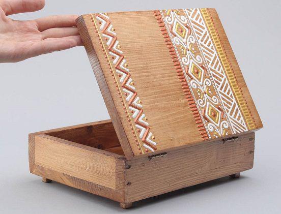 Шкатулка из дерева своими руками: мастер-класс