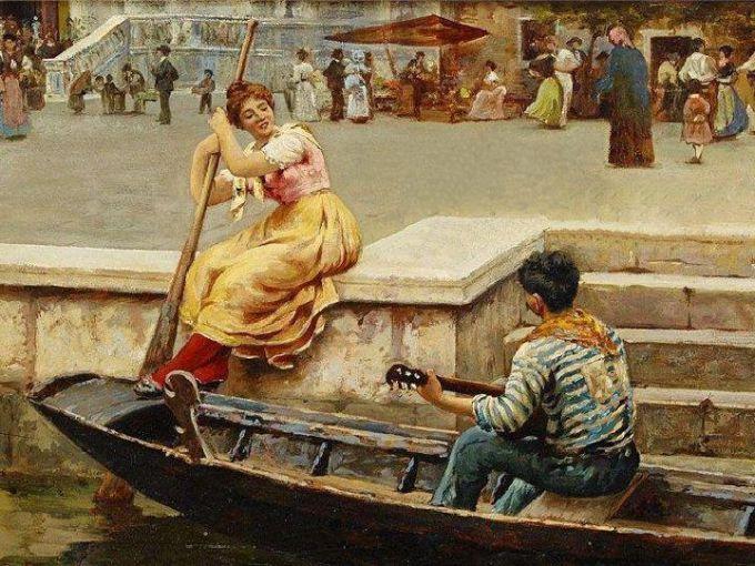 песня венецианского лодочника