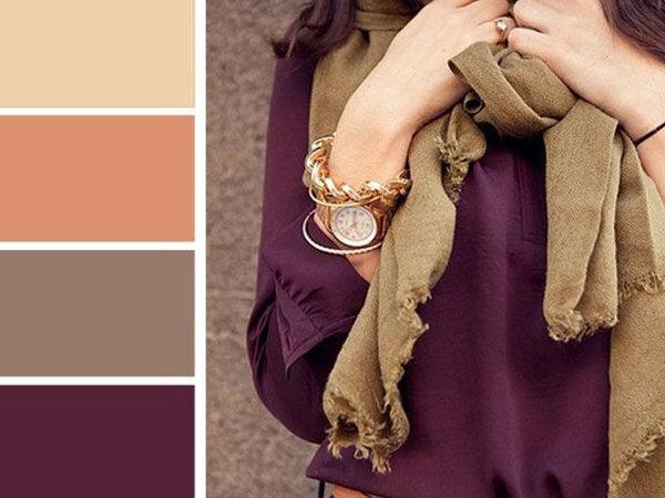 Как красиво сочетать цвета в одежде