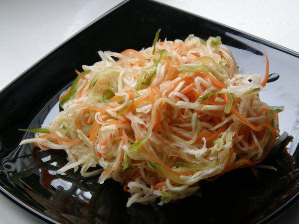 Салат из сельдерея корневого для похудения: рецепты