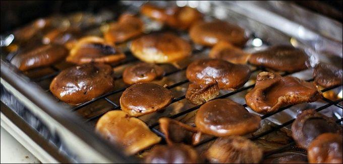 Приготовление блюд из грибов