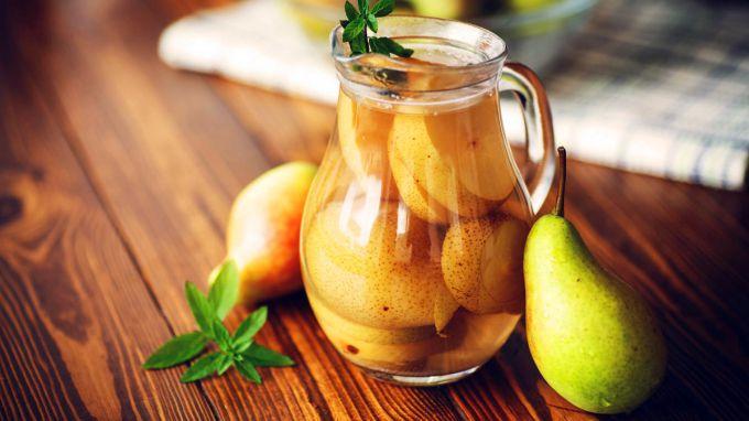Компот из груш: вкусные рецепты