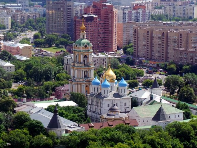 Новоспасский монастырь в Москве: иконы, святыни, фото, адрес