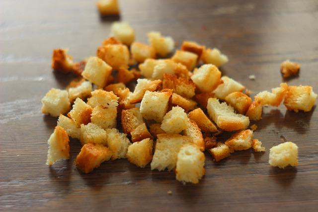 Сухарики из белого хлеба от расстройства желудка