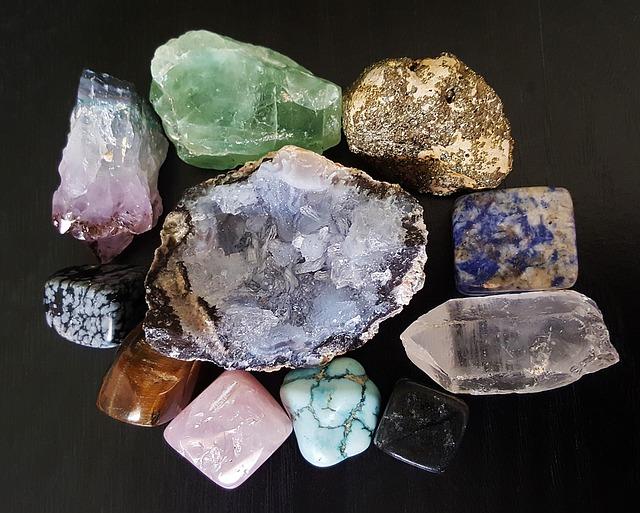 Камни и минералы для здоровья и от болезней