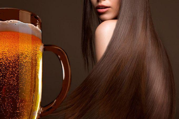 Маска для волос из пива и березовых листьев
