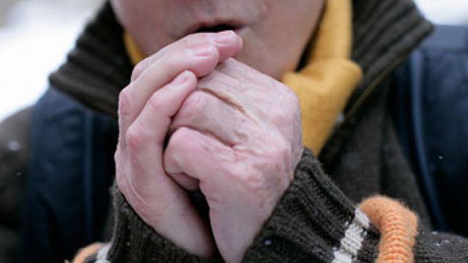 На морозе пальцы теряют чувствительность